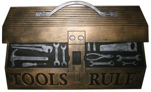 Robert Allen Tool Box Door Mat Black, Brown 5ea/18 In X 30 in