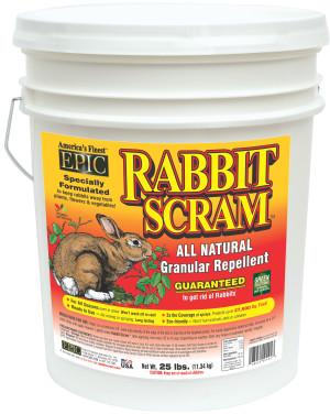 Enviro Rabbit Scram Granular Repellent Pail 1ea/25 lb