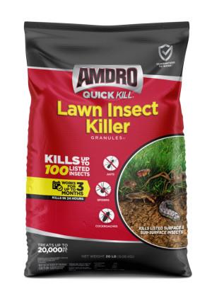 Amdro Quick Kill Lawn Insect Killer Granules II 1ea/20 lb