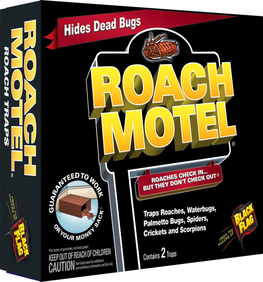 Black Flag Roach Motel Roach Traps 12ea/2 pk