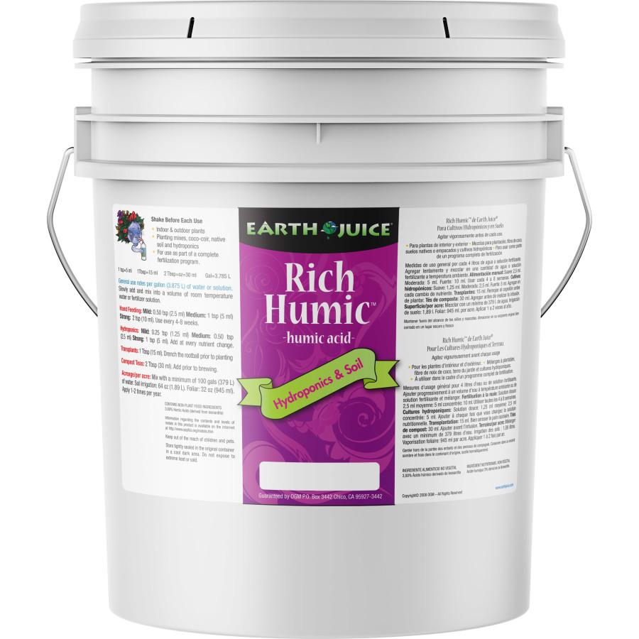 Earth Juice Rich Humic Acid 1ea/5 gal