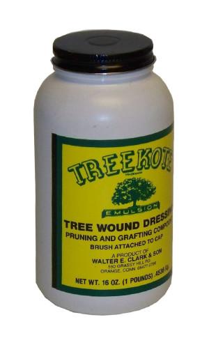 Treekote Tree Wound Dressing Brush Top 12ea/16 fl oz