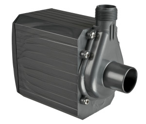 Danner Pondmaster Pond-Mag Magnetic Drive Water Pump Black 2ea/1200 GPH, 18Ft Cord