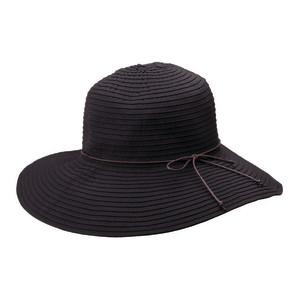 Goldcoast Sunwear Womens Hillary Hat Black 6ea/Adjustable