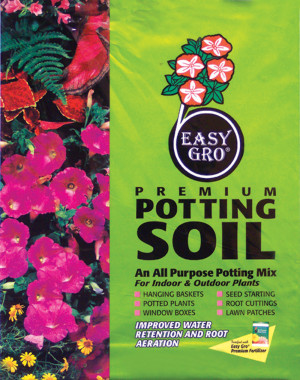 Easy Gro Premium Potting Soil Fortified With Fertilizer 60ea/40 qt