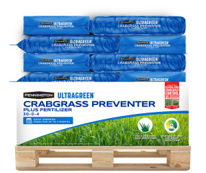 Pennington Ultragreen Fertilizer Crabgrass Preventer Plus 30-0-4 1ea/15M 37.5 lb