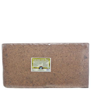 Down To Earth Coir Fiber Bale 4.5 Cubic Foot 1ea/280.93 lb