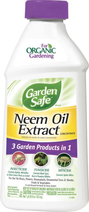 Garden Safe Neem Oil Extract Concentrate 6ea/16 fl oz