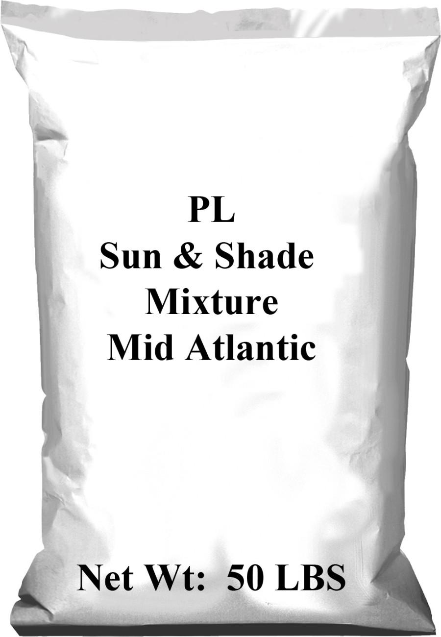 Pennington PL Sun & Shade Mixture Mid Atlantic 1ea/50 lb