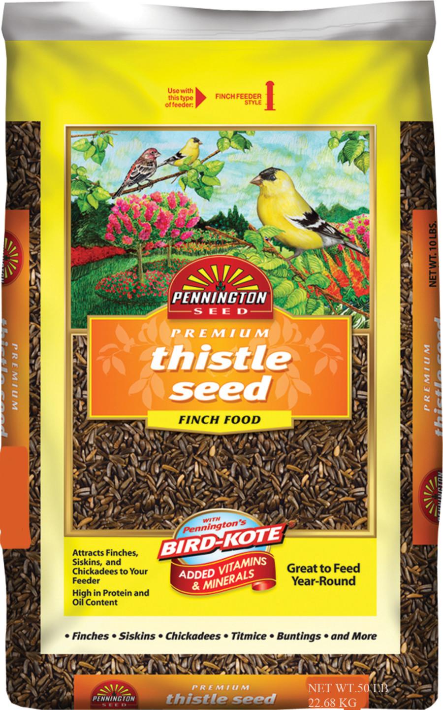 Pennington Premium Thistle Seed Bird Food 1ea/50 lb