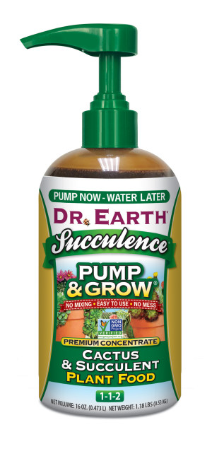 Dr. Earth Pump & Grow Succulence Cactus and Succulent Plant Food 1-1-2