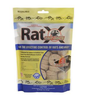 RatX Bait Rat and Mouse Control Discs 12ea/45Pk 1 lb