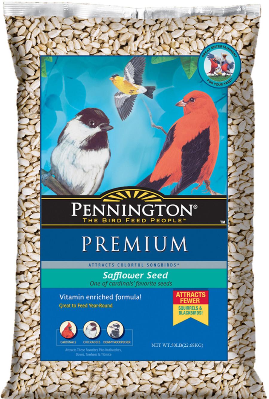 Pennington Premium Safflower Seed Bird Food 1ea/50 lb