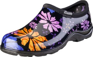 Sloggers Women's Waterproof Comfort Shoes Flower Power 1ea/Size 9