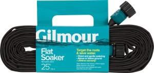 Gilmour Flat Weeper/Soaker Hose in Shelf Display Black 12ea/25 ft