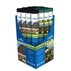 Coolaroo 30% - 50% Garden Cover Collection Display 1ea/16Pc