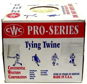 Continental Western Poly Tying Twine White 4ea/10 lb