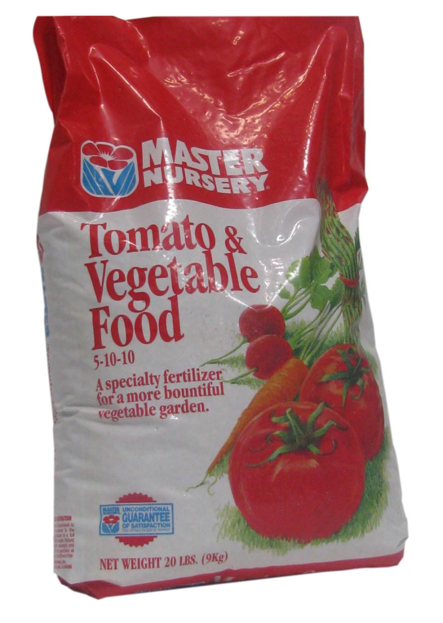 Master Nursery Tomato & Vegetable Food 5-10-10