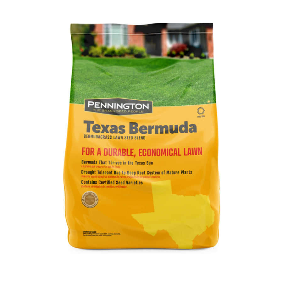 Pennington Texas Bermuda Bermudagrass Lawn Seed Blend 4ea/10 lb