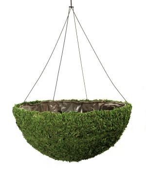 Supermoss Mega Round Hanging Basket Spring Green 4ea/22 in