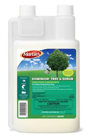 Control Solutions Dominion Tree & Shrub Systemic Insecticide Concentrate 12ea/32 fl oz