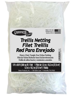 Dalen Gardeneer Trellis Netting Mesh White 12ea/5Ftx60Ft 7 in