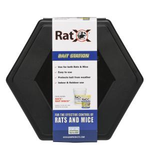 RatX Bait Rat and Mouse Control Station 1ea