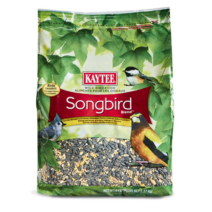 Kaytee Songbird Blend Food Bag 3ea/5 lb