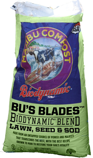 Malibu Compost Bu's Blades Biodynamic Blend Lawn Seed & Sod 1ea/1Cuft