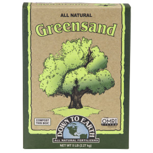 Down To Earth Greensand Natural 6ea/5 lb