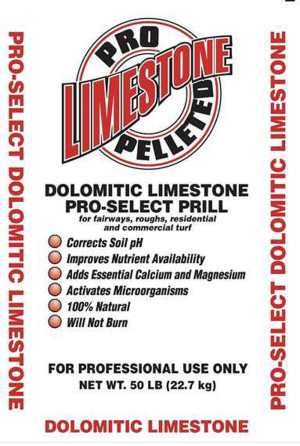 Oldcastle Pro Select Dolomitic Pelletized Limestone 1ea/50 lb