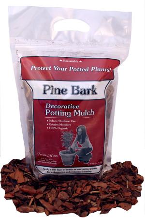 Terrace Mulch Pine Bark Brown 24ea/4 qt