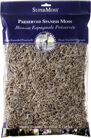 Supermoss Spanish Moss Preserved Natural 10ea/8 oz