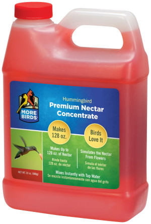 Classic Brands More Birds® Hummingbird Nectar Concentrate Liquid Red 4ea/32 fl oz
