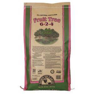 Down To Earth Fruit Tree Natural Fertilizer 6-2-4 1ea/50 lb