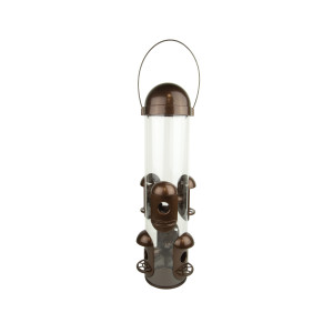 Pennington Squirrel Proof Bird Feeder Bronze 2ea
