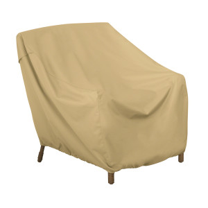 Classic Accessories Terrazzo Cover Lounge Chair Sand 1ea/Large