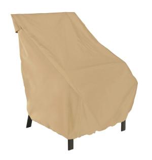 Classic Accessories Terrazzo Patio Cover Chair High Back Sand 6ea/27 in