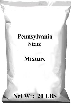 Pennington Lofts Pennsylvania State Deluxe Grass Seed Mixture 50ea/20 lb