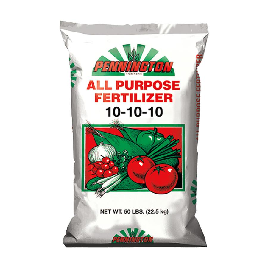 Pennington All Purpose Fertilizer 10-10-10 1ea/50 lb