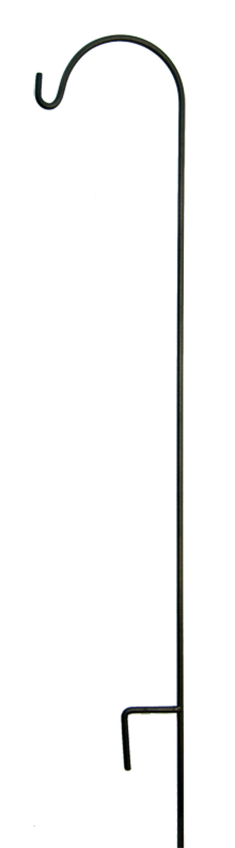 American GardenWorks Tall Hangers Single Black 10ea/90Inx12 in