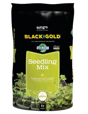 Black Gold Seedling Mix Organic 1ea/16 qt