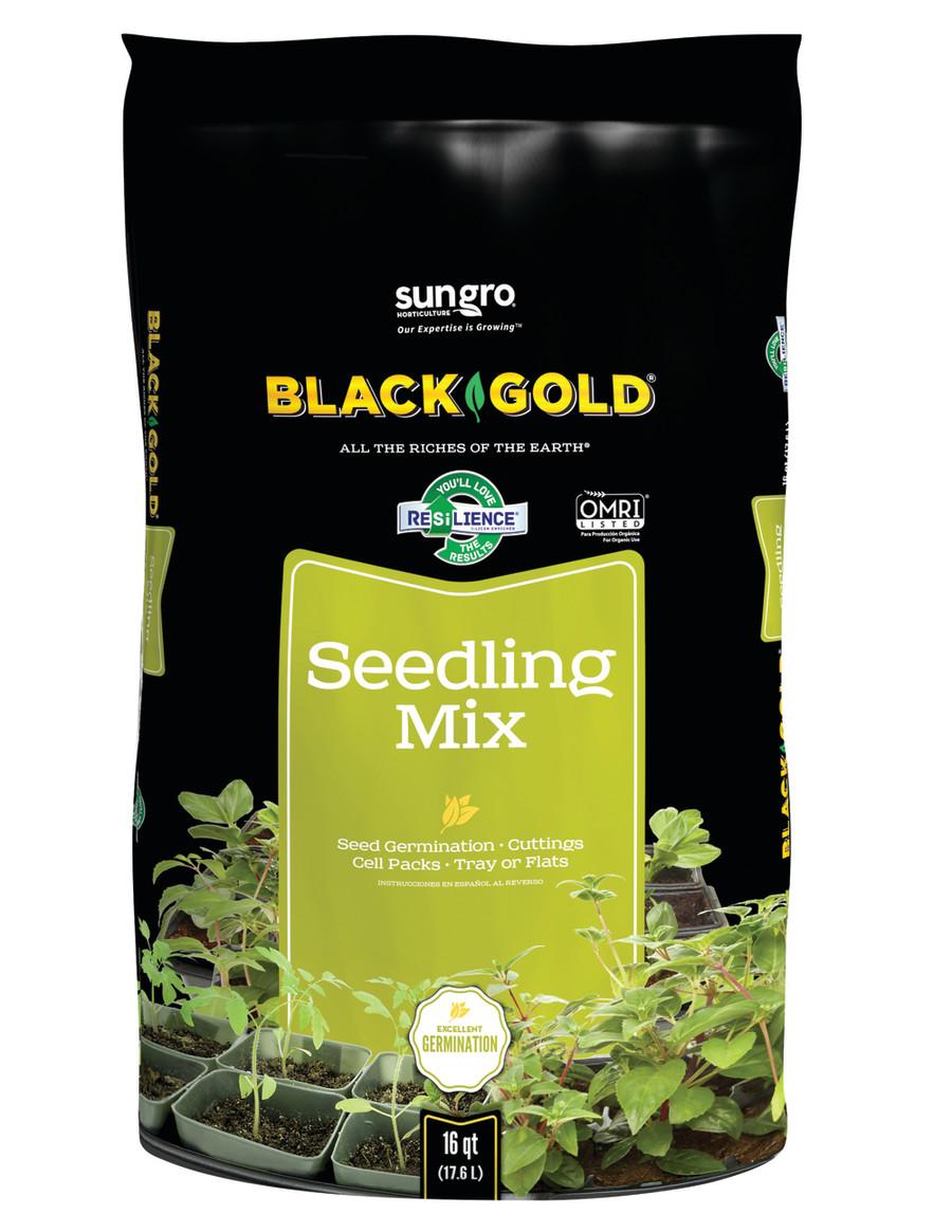 Black Gold Seedling Mix Organic 1ea/16 qt