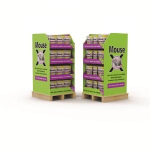 RatX MouseX Pellets Mouse Control Floor Display 60ea/1 lb