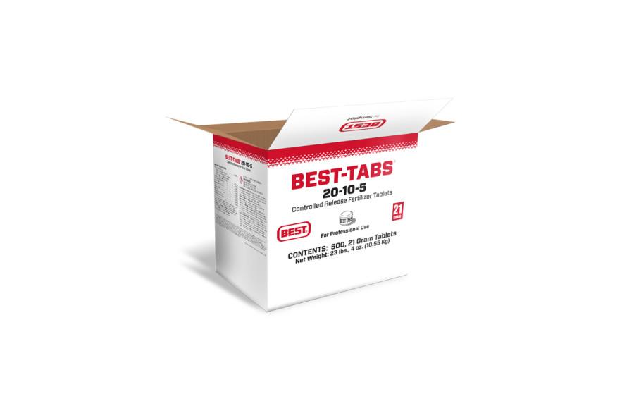 Best Tabs Controlled-Release Fertilizer Tablets 20-10-5 1ea/500 pk