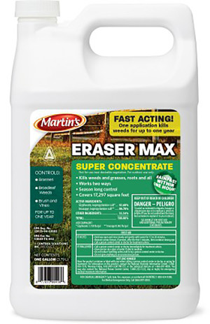 Control Solutions Eraser Max Weed Killer Concentrate 4ea/1 gal