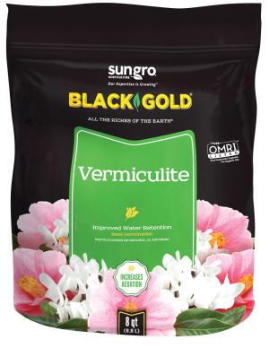 Black Gold Vermiculite 8ea/8 qt