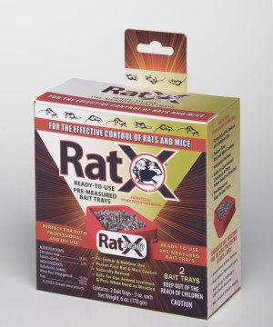 RatX Rat and Mouse Ready To Use Bait Tray 12ea/2 pk