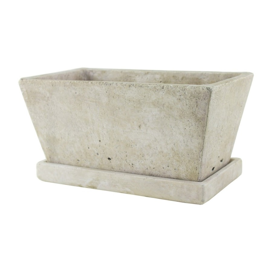 Syndicate Tapered Square Vase with Tray