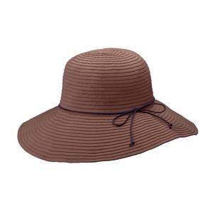Goldcoast Sunwear Womens Hillary Hat Brown 6ea/Adjustable